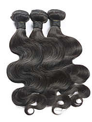 3 Pieces Body Wave Human Hair Weaves 6a Brazilian Texture Human Hair Weaves Body Wave