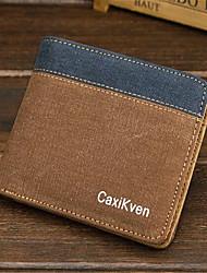 Men Canvas Casual Outdoor Wallet