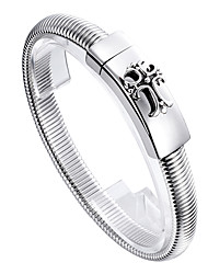 Kalen®2016 Fashion Trendy Bracelets Jewelry Cross Charm 316l Stainless Steel Chains Bracelets for Men