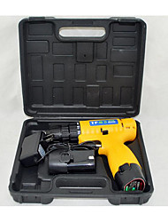 Power Lithium Battery Cordless Drill(Plug-in  AC - 220V ;Drilling Diameter 10mm)