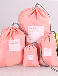 путешествия одежды багажные сумки для хранения оптовой комплект карман четыре штуки