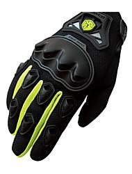 MC29 SCOYCO luvas e competência da motocicleta luvas da bicicleta antiderrapante luvas de dedos semi anti queda