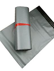 sacos de correio cinza destrutiva boca pegajosa impermeável logística Taobao e sacos de embalagem de especialidade de seda