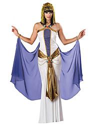 Fantasias de Cosplay Festa a Fantasia Princesa Fantasias Egípcias Festival/Celebração Trajes da Noite das Bruxas Roxo Vintage Vestido