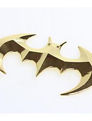 3D Automobile Logo Stickers Modified Batman Standard Metal Body Paste Solid In Car