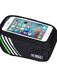 B-SOUL® Bike Bag 1.5LLBike Frame Bag Touch Screen / Phone Holder / Phone/Iphone / Shockproof Bicycle Bag Nylon Cycle BagOther Similar