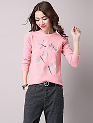 подписать весной новый свитер корейской версии мультфильма шаблон свитер женский свитер женский свободно