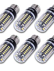 5 E14 / E12 / E26/E27 Ampoules Maïs LED T 56 SMD 5736 500 lm Blanc Chaud / Blanc Froid Décorative AC 85-265 V 6 pièces