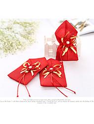 Geschenktaschen(Rot,Vließstoff / Jüte) -Nicht personalisiert-Hochzeit / Jubliläum / Brautparty / Babyparty / Quinceañera & Der 16te