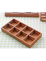 Anniversary Crafts 1pc Wood Crafts,Brown