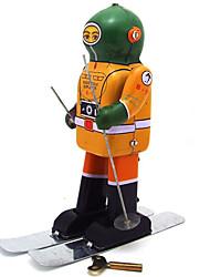 Toy Nouveauté / Puzzle Toy / jouet éducatif / Jouet à Remonter Puzzle Toy / / guerrier / Robot Métal Jaune Pour Enfants