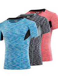 Tights Fitness Basketball Jersey Sports Gym Clothing Training Quick Dry Compression Running Short Sleeve T Shirts Men