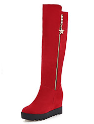 Women's Boots Spring / Fall / Winter Wedges / Fashion Boots Fleece Wedding / Dress / Casual Wedge Heel Others /