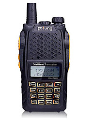 pofung UV-6puls Walkie Talkie 8W Not Mentioned 136-174MHz / 400-520MHz Not Mentioned 3 km -5km Stromsparfunktion Not Mentioned