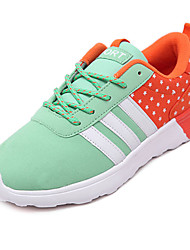 Women's Sneakers Spring / Fall Comfort / Flats Fabric Athletic / Green / Pink / Purple / Gray / Black and Red /
