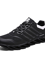 Men's Breathable Mesh Running Shoes Have Strong Grip of Cushioning Soles Man's Outdoor Shoes