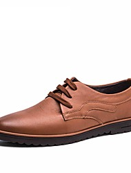 2017 New Men's Shoes Genuine Leather Oxford Office Shoes For Men High Quality Men's Dress Italian Leather Shoes Formal