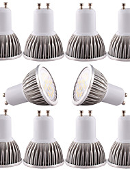 5W GU10 / GU5.3(MR16) / E14/E27 LED Spotlight MR16 16 SMD 5730 480 lm Warm White / Cool White Dimmable / 110/220/12V