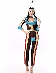 Women Dress Pocahontas Indian Wild West Indian Clothing