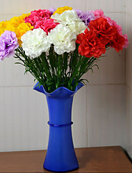 Hi-Q 1Pc Decorative Flowers Real For Wedding Home Table Decoration Carnation Artificial Flowers