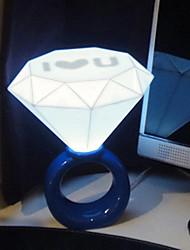 1PC LED USB Originality  Home Furnishing Diamond Night Light