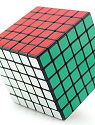 Shengshou® Glatte Geschwindigkeits-Würfel 6*6*6 Fluoreszierend / Profi Level Druck-Helfer / Magische Würfel / Puzzle SpielzeugSchwarz /