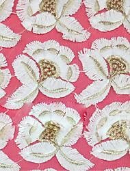 Beige Apparel Fabric & Trims