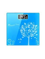 elektronische Waagen menschlichen Maßstab hhealth schlank Quadrat Quadrat Waage (verkauft blau)