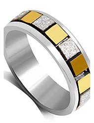 Ringe Modisch Hochzeit / Party Schmuck Aleación Damen Statementringe 1 Stück,6 / 7 / 8 / 9 Goldfarben / Schwarz / Silber