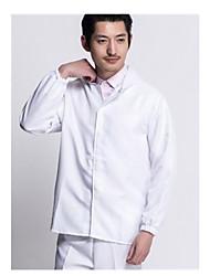 terno branco de trabalho de alimentos roupas limpas tamanho xl