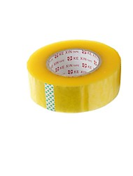 vedação fita de vedação fita de vedação largura de plástico 4,5 centímetros 2,8 centímetros de espessura fita transparente (volume 2 a)