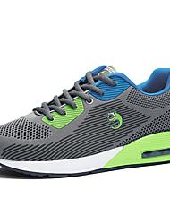 Herren-Sneaker-Lässig-PU-Flacher Absatz-Komfort-Blau / Rot / Grau