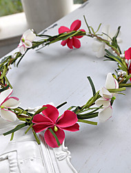Women's Resin Headpiece-Wedding Flowers 1 Piece