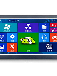 E Airlines GPS Car Navigation 7 Inch 8G Ultra HD Bright Kay Map