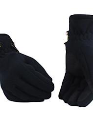 Fahrradhandschuhe Winterhandschuhe Alles warm halten Skifahren / Snowboarding Grau / Schwarz / Dunkelrosa  Leinwand M / L / XL