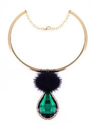 Ожерелье Ожерелья с подвесками Бижутерия Повседневные Мода Сплав Золотой 1шт Подарок