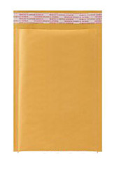Yellow Envelope Air Parcel Kraft Bubble Envelope Bag Made Postal Courier Bags Customized Spot A Pack Of Ten