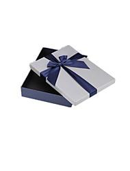 embalagem&caixa de embalagem de presente azul de fundo envio tampa de prata