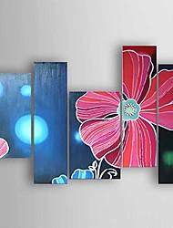 Handgemalte Abstrakt Ölgemälde,Modern Fünf Panele Leinwand Hang-Ölgemälde For Haus Dekoration