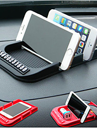 Automobile double card multifunctional anti skid mat vehicle mounted mobile phone support
