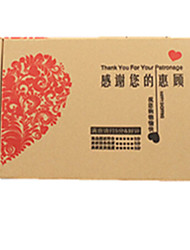 Yellow Color, Other Material Packaging & Shipping Folding Carton A Pack of Four
