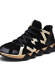 Men's Shoes Fashion Breathable Athletics Casual Fabric Fashion Sneakers Black
