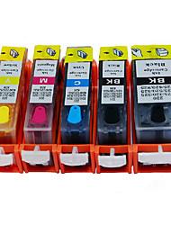 cartouches d'imprimante, applicable modèle de marque pixma ip7280, pixma mg5480 / mg6380, vente noir, 20ml