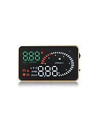 GEYIREN X6 Universal HUD Speed Alarm Water Temperature Alarm Voltage Alarm Instantaneous Fuel Consumption
