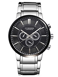 CURREN® Men's Watch Dress Watch Water Resistant Fashion Steel Band Cool Watch Unique Watch