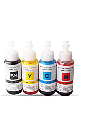 Applicable Epson Ink Me33 70MLA Pack Of 5Boxes, Each Box Different Colors:Black, Red, Yellow, Cyan