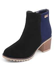 Women's Boots Fall / Winter Fashion Boots / Round Toe Glitter /Party & Evening / Dress / Casual Stiletto Heel Beading