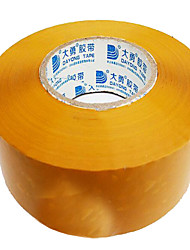 желтый уплотнительная лента 4.8cm * 3.5cm прозрачная лента, бежевый упаковочная лента оптовой пользовательских печати