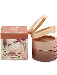 5 Colors Contour Palette Natural Camouflage Face Concealer Cream 3D Contouring Cosmetics Perfect Makeup Foundation