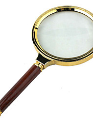 Amplification 6X 80mm Optical Magnifying Glass Handheld Reading Magnifier